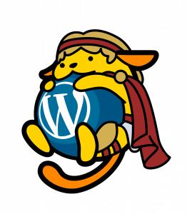Αλέξανδρος το Wapuu του WordCamp Thessaloniki